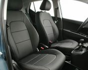 Hyundai i10 Alba Buffalino Leder Inbouw Zwart Voorstoelen