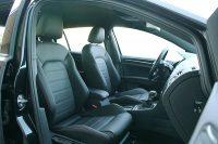 Volkswagen Golf 7 GTI Alba Buffalino Leder Zwart met Rood Stiksel Voorstoelen