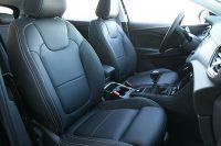 Opel Grandland X Alba Buffalino Leder Zwart met Titaniumgrijs Stiksel Voorstoelen