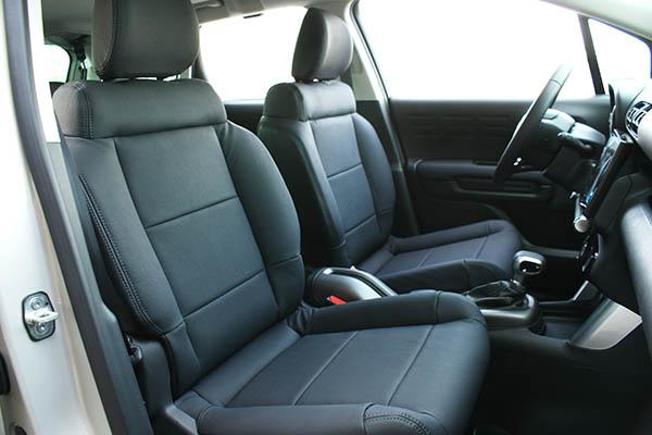 Citroën C3 Aircross Alba eco-leather Zwart Voorstoelen