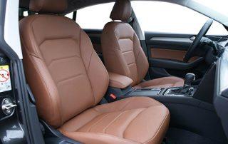 Volkswagen Arteon Alba Buffalino Leder Kaneel Bruin Voorstoelen
