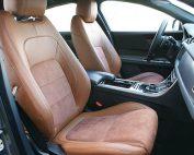 Jaguar XF Sport Alba Nappa Leder Alcantara Inbouw Interieur Voorstoelen